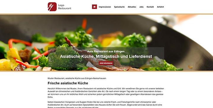 Premium Homepagevorlagen Für Restaurants Bars Cafés Weik Online